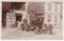 TREBBIATRICE - TREBBIATURA - CONTADINI - FOTO CARTOLINA ORIGINALE - Métiers