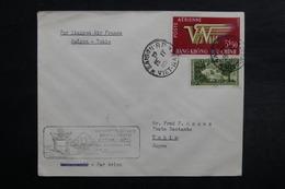VIÊT NAM - Enveloppe 1er Vol Saïgon / Tokyo En 1952, Affranchissement Plaisant - L 33079 - Vietnam
