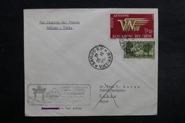 VIÊT NAM - Enveloppe 1er Vol Saïgon / Tokyo En 1952, Affranchissement Plaisant - L 33082 - Vietnam