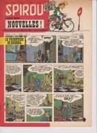 Spirou  N°1052 - 12 Juin 1958 - Spirou Magazine