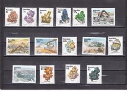 Namibia Nº 640 Al 654 - Namibia (1990- ...)