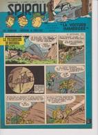 Spirou  N°1067 - 25 Septembre 1958 - Spirou Magazine