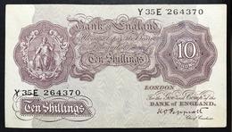 GRAN BRETAGNA Great Britain Inghilterra 10 SCELLINI 1940-1948 Peppiatt Pick 123 Spl LOTTO 756 - Andere
