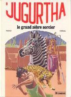 Jugurtha T 09  Le Grand Zèbre Sorcier  EO   BE-  LOMBARD 09/1982 Vernal Franz (BI1) - Editions Originales (langue Française)