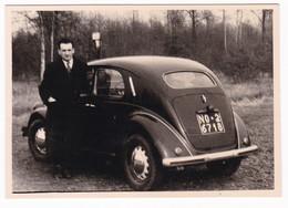 """AUTOMOBILE   """" LANCIA ARDEA """"  -  LANCIA CAR  -  FOTO ORIGINALE 1952 - Automobiles"""