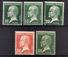 FRANCE 1922/26 - LOT / Y.T. N° 170 / 171 / 172 / 173 / 174 - NEUFS** - Nuovi