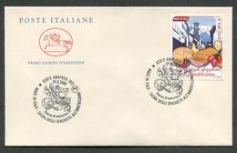 FDC ITALIA 2008 - CAVALLINO - SAGRA DEGLI SPAGHETTI ALL'AMATRICIANA AMATRICE  - 717 - 6. 1946-.. Republik