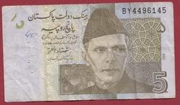 Pakistan 5 Rupees 2008 Dans L 'état - Pakistan