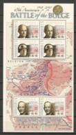 Dominica- MNH Sheet 1 WORLD WAR 2 - BATTLE OF THE BULGE - ARDENNES OFFENSIVE - 2. Weltkrieg