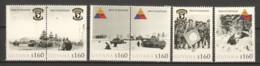 Guyana - MNH Serie 1 WORLD WAR 2 - BATTLE OF THE BULGE - SIEGE OF BASTOGNE - WW2