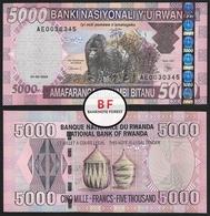 Rwanda   5.000 Franc   2004   P.33a   AE 0030345   UNC - Ruanda