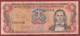 Dominicaine 5 Pesos Oro 1994 Dans L 'état - Dominicana