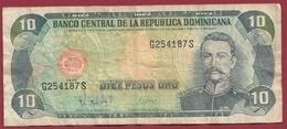 Dominicaine 10 Pesos Oro 1998 Dans L 'état - Dominicana
