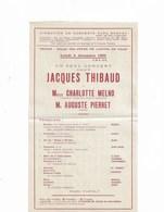 Programme Concert Paul Boquel à Troyes Du Lundi 4 Décembre 1905 - Programs