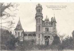 LES  CHATEAUX DE LA VENDEE - FONTENAY-LE-COMTE . LE CHATEAU . CARTE NON ECRITE - Fontenay Le Comte