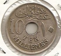 EGIPTO EGYPT EGYPTE10 Milliemes 1917 H  108 - Egypte