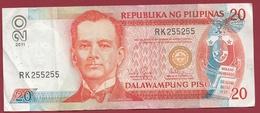 Philippines 20 Piso 2011  Dans L 'état - Philippines