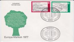 Germany 1977 FDC Europa CEPT (G67-49) - Europa-CEPT