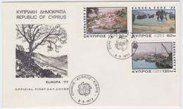 Cyprus 1977 FDC Europa CEPT (G67-49) - Europa-CEPT