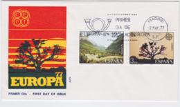 Spain 1977 FDC Europa CEPT (G67-49) - Europa-CEPT