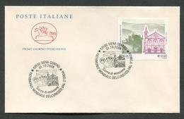 FDC ITALIA 2008 - CAVALLINO - UNESCO VAL D'ORCIA - 737 - 6. 1946-.. Republik