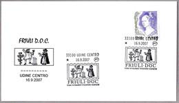 FERIA DEL VINO - WINE FAIR - FRIULI DOC. Udine 2007 - Vinos Y Alcoholes