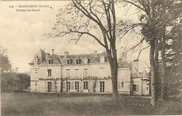 72 -  MALICORNE - Château De DUREIL 60 - Malicorne Sur Sarthe