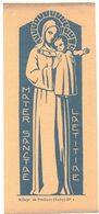 ABBAYE DE PRADINES N° 1 MATER SANCTAE LAETITIAE IMAGE PIEUSE RELIGIEUSE HOLY CARD SANTINI HEILIG PRENTJE - Santini