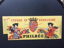 BUVARD PHILBEE  Couque Déc Bougogne - Pan Di Zenzero