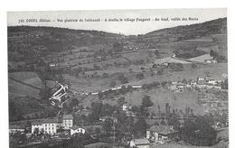 COURS Vue Generale Du Valissant ,à Droite, Le Village Fougerat Au Fond, Vallée Des Haras - Cours-la-Ville