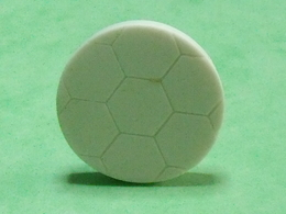Fèves / Sports : Ballon De Foot , Blanc     T52 - Sports