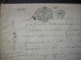 1740 Parchemin 24 Pages : Crépy Annulation Vente De De Billy  Chanoine De Saint Clément Compiègne  à Antoine Saiget - Manuscripts