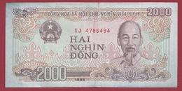Viêt -Nam 2000 Dong 1988 Dans L 'état - Vietnam