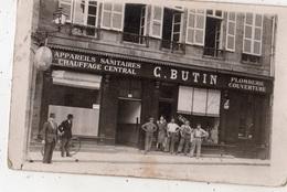 MOULINS APPAREILS SANITAIRES CHAUFFAGE CENTRAL C. BUTIN CARTE PHOTO - Moulins