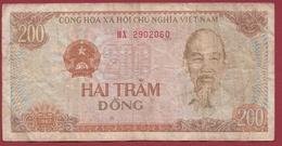 Viêt -Nam 200 Dong 1987 Dans L 'état - Vietnam
