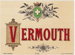 Ancienne Etiquette VERMOUTH - Etiquettes
