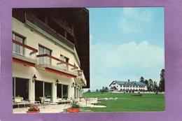 88 VENTRON Ermitage  Frère Joseph  Hôtel  Des Buttes Et Hôtel De L'Ermitage En Fond - France
