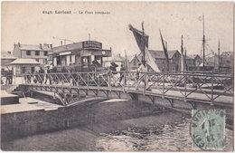 56. LORIENT. Le Pont Tournant. 6143 - Lorient