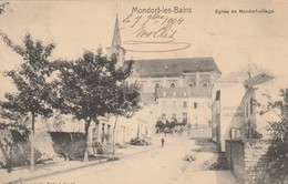 Mondorf Les Bains , Eglise De Mondorf-village Circulé En 1904 ( Nels , Luxembourg , Série 3 ,n° 19) - Mondorf-les-Bains
