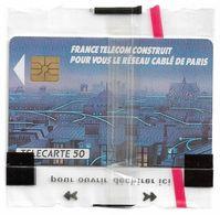 France - TV Réseau Cable De Paris - 0109 - 50Units, 02.1990, NSB - 1990