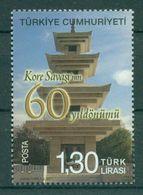 AC - TURKEY STAMP -  60th ANNIVERSARY OF KOREAN WAR MNH 25JUNE2011 - Nuevos