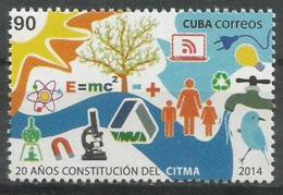 Cuba 2014 20th Anniversary Of CITMA (Einstein Ecuation) 1v MNH - Cuba