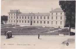 56. LORIENT. Collège De Jeunes Filles. 36 - Lorient
