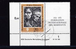 DDR, Nr. 1680/81 ZD DV, Gest. (K 4149a) - DDR