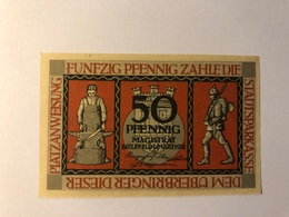 Allemagne Notgeld Bielefeld  50 Pfennig - Collections