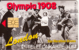 GERMANY - 100 Jahre Olympia 2/1908 London-Das Marathon Drama(O 1233), Tirage 1000, 07/95, Mint - O-Series : Séries Client
