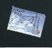 N° 2548 Postillon  Emblème Postal Et Symbole Cavalier A Oblitéré Timbre Portugal 2002 - Oblitérés