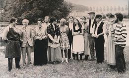 BACHTE MARIA LEERNE --  FOTO 1973 = 15 X 8  CM ==   TONEELKRING OOIDONK - Deinze