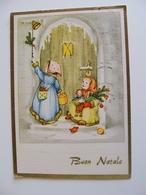 BUON NATALE  NOEL      POSTCARD USED    CONDITION PHOTO FORMATO  GRANDE - Natale
