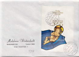 Postal History: Germany Cover With SS - Christmas
